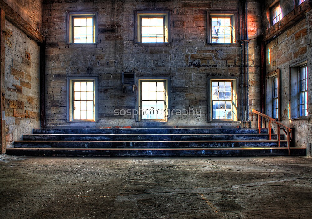 wall with windows by sosphotography