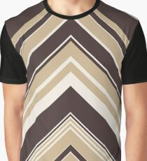 Geometric Geode - Beige/Black Graphic T-Shirt