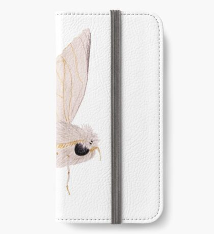 Silk Moth iPhone Wallet