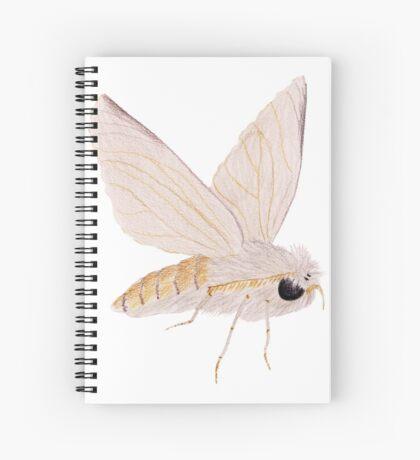 Silk Moth Spiral Notebook