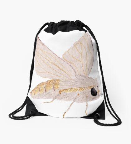 Silk Moth Drawstring Bag