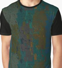 Natural texture ornament in brown, blue, green, beige Graphic T-Shirt