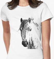Equine Womens Fitted T-Shirt