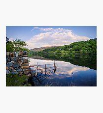 Peace At The Lake Photographic Print