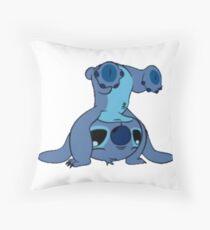 Stitch Handstand Throw Pillow