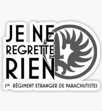 1 REP Legion Etrangere Sticker