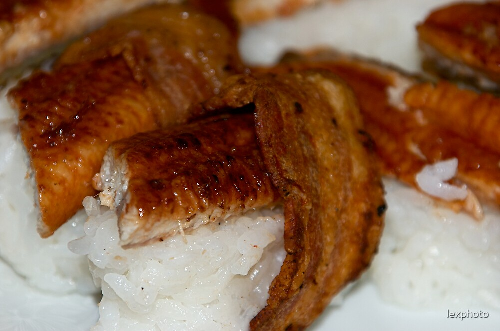 Bacon Sushi by lexphoto