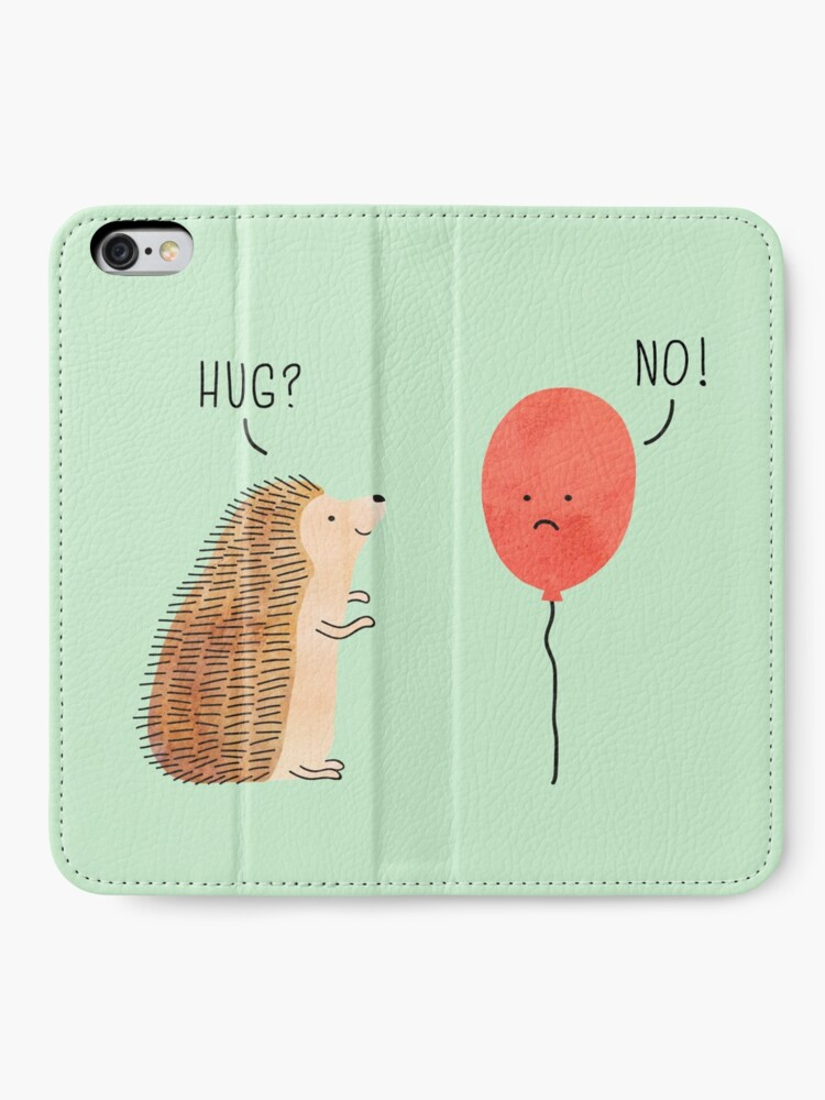 Alternate view of impossible love iPhone Wallet