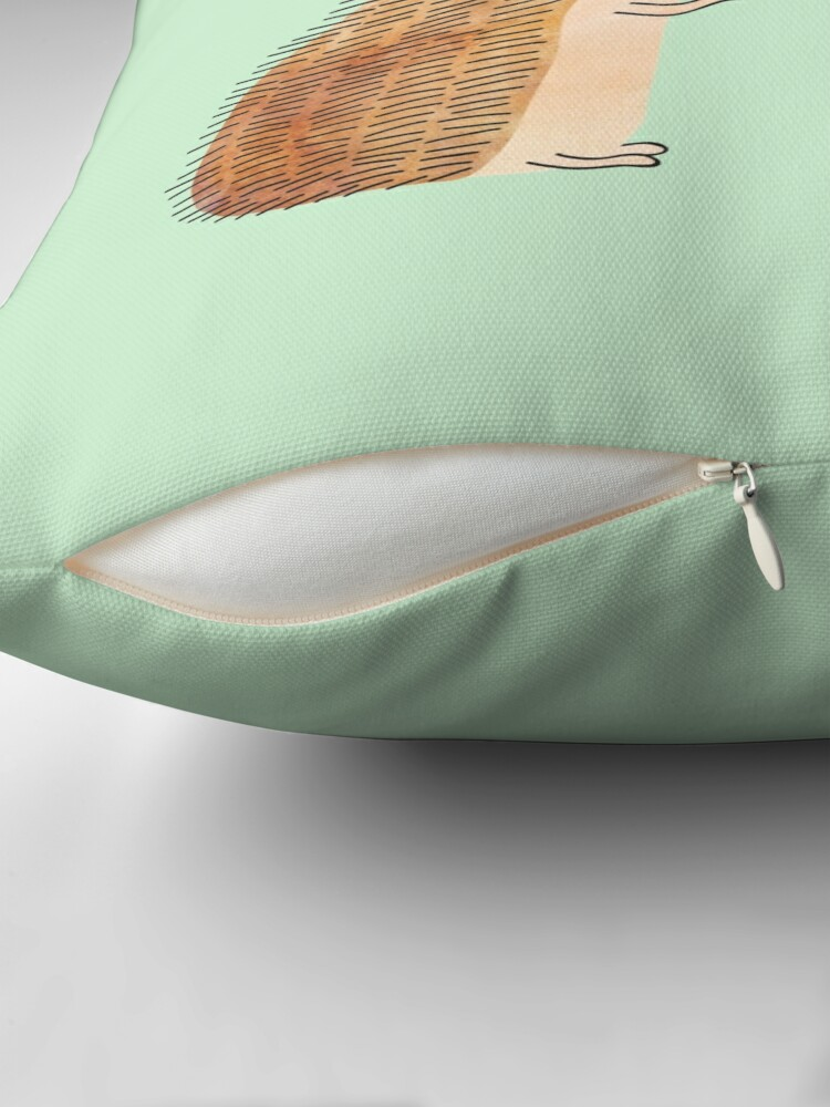 Alternate view of impossible love Throw Pillow