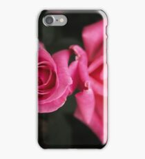 Pink Rose Sisters iPhone Case/Skin