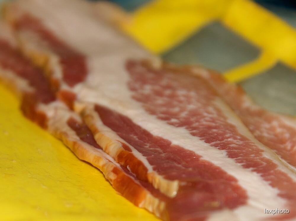 A Blank Slate of Bacon  by lexphoto