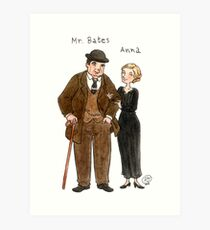 Mr. Bates-Anna Art Print