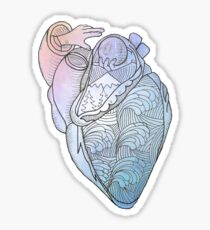 Heart of the Pacific Northwest, Watercolor Sticker