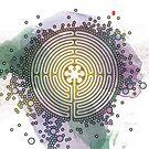 Meditative Labyrinth by Thoth Adan