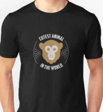 Cutest Animal In The World - Monkeys, Monkey Lovers, Wild Animal, Funny T-Shirt