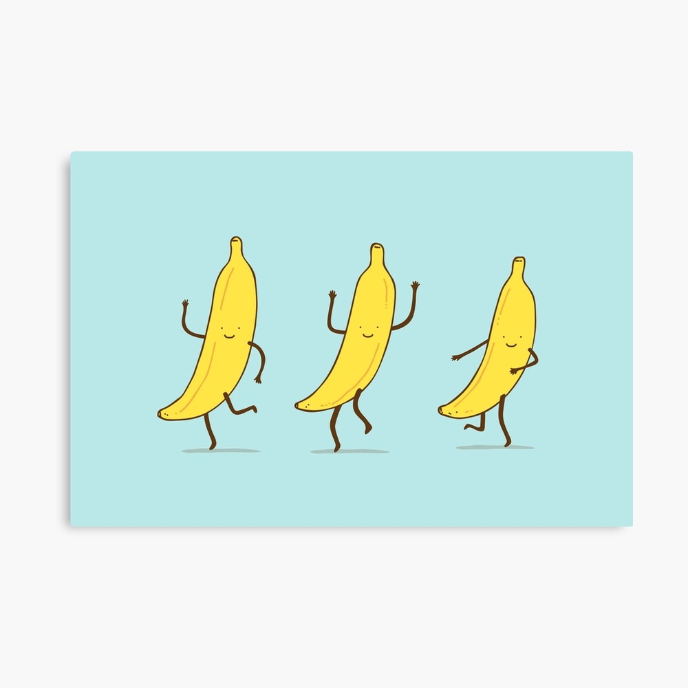 banana shake Canvas Print