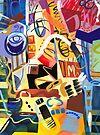 Abstract Interior #36 by Lisa V Robinson