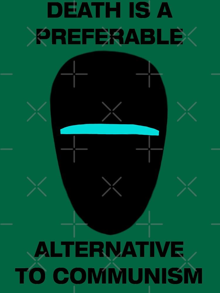 La muerte es una alternativa preferible al comunismo de Marksman