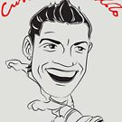 Cristiano Ronaldo Caricature by mechanimation