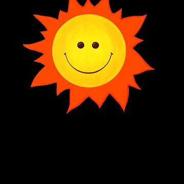 Happy Smiling Sun by azzza