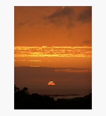 Sunsets Photographic Print