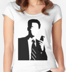 Twin Peaks Dale Cooper Women's Fitted Scoop T-Shirt