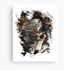 League of Legends MERCENARY KATARINA Canvas Print