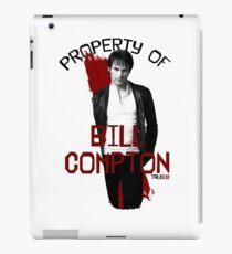 Property of Bill Compton iPad Case/Skin