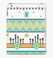 Abstract Aztec Landscape iPad Case/Skin