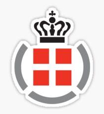 Danish Armed Forces Logo  Sticker