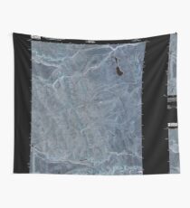 USGS TOPO Map Idaho ID Grasmere Reservoir 20101117 TM Inverted Wall Tapestry
