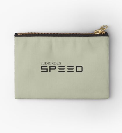 Ludicrous Speed Studio Pouch