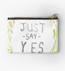 Just Say Yes - Zoella Studio Pouch