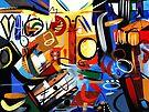 Abstract Interior #25 by Lisa V Robinson