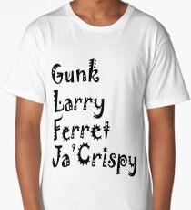 Impractical Jokers Nicknames Long T-Shirt