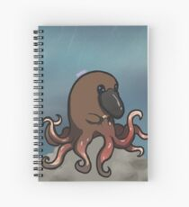 Ornithopoulpe Spiral Notebook
