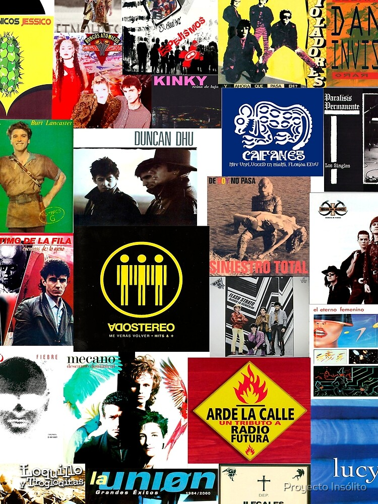 spain and southamerica rock and pop bands by p-insolito