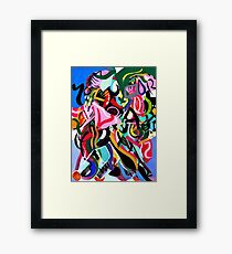 Psych Abstract #2 Framed Print