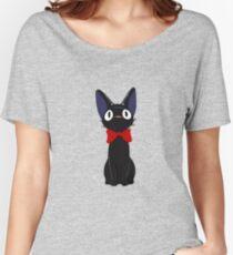 Jiji The Cat Women's Relaxed Fit T-Shirt