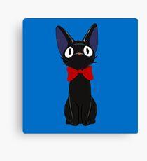 Jiji The Cat Canvas Print