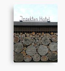 Insekten Hotel... Canvas Print