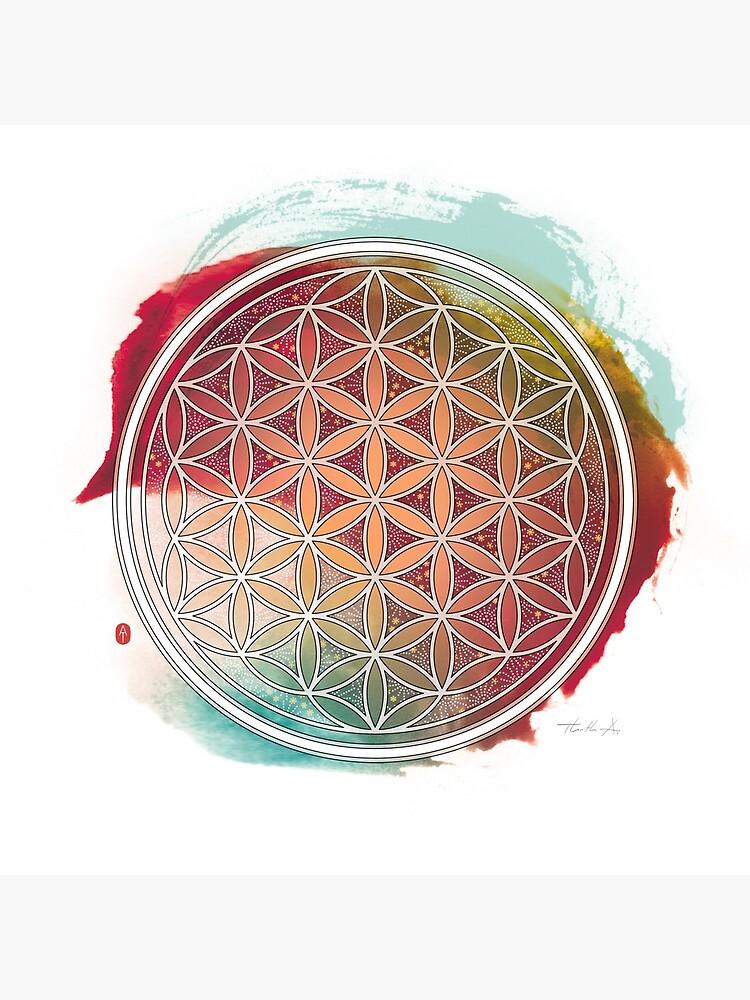Meditative Flower Of Life by Thoth-Adan