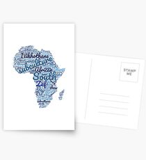 South African Subcultures Postcards