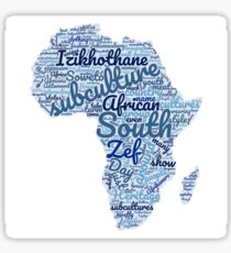 South African Subcultures Sticker