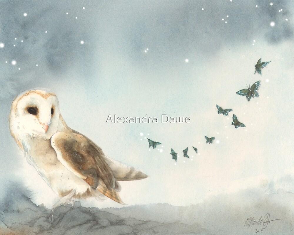 Dusk by alexandradawe