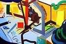 Abstract Interior #20 by Lisa V Robinson