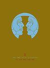 Gemini Zodiac / Twins Star Sign Poster by Thoth Adan