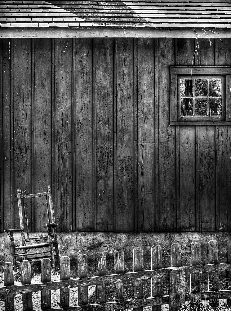 Old Rocking Chair by Michael Savad