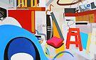 Abstract Interior #13 by Lisa V Robinson