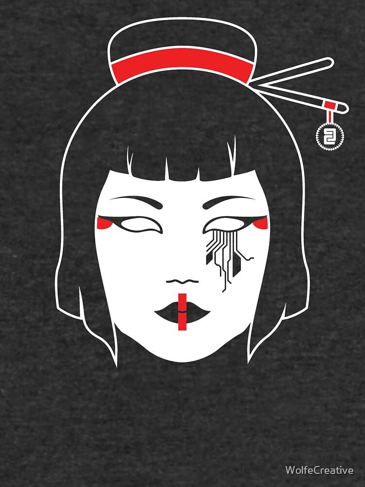 Geisha Kettensäge von WolfeCreative